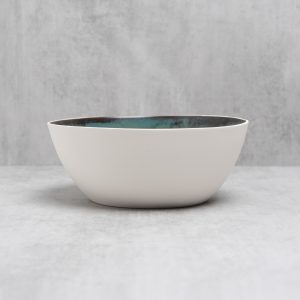 Pianca Ceramics - large white ceramic bowl - large decorative bowl - large white porcelain bowl