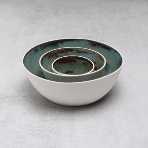 Pianca Ceramics - small white ceramic bowl - handmade pottery bowls -unique pottery bowls - white bowl - white pot - contemporary bowl