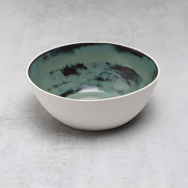 Pianca Ceramics - large white ceramic bowl