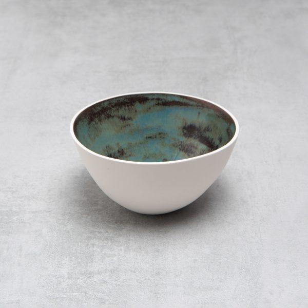 Pianca Ceramics - white ceramic bowl - unique pottery bowls - white bowl -white pot - handmade bowl - white soup bowls - contemporary bowl - handmade ceramic bowls