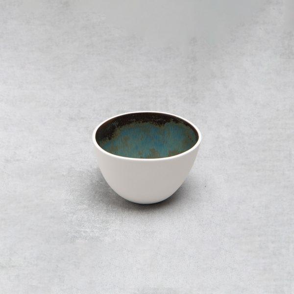 Pianca Ceramics - small white ceramic bowl - white sugar bowl - bowl white - small ceramic pot