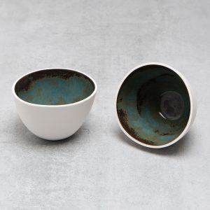 Pianca Ceramics - small white ceramic bowl - small white bowls - bowl white - small bowl - handmade pottery bowls - small white pot - small ceramic pot