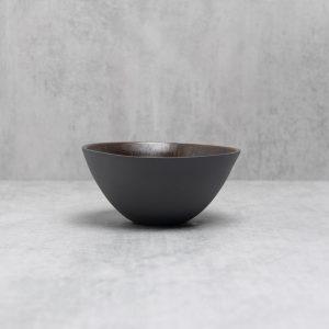 Pianca Ceramics - black ceramic bowl - black decorative bowl - black porcelain bowl - black home accessories - black home decor - black home interior