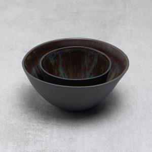 Pianca Ceramics - small black ceramic bowl - black porcelain - small black bowl - black house decor - bowl black - black pot - black ceramic bowl - black interior design - black home interior