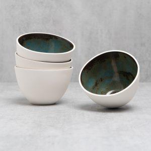 Pianca Ceramics - small white ceramic bowl - small white bowls - bowl white - small bowl - handmade pottery bowls - small ceramic bowl - little ceramic pots