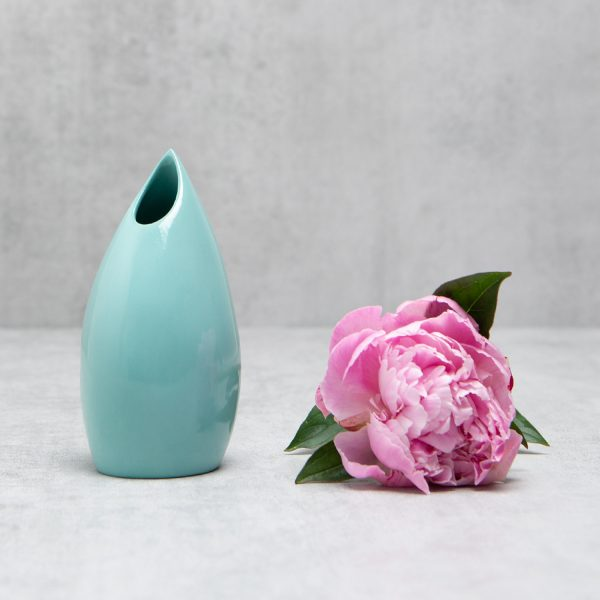 Pianca Ceramics - turquoise ceramic vase - turquoise vases for sale