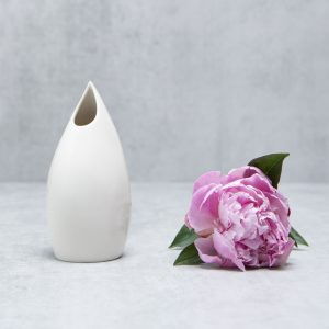 Pianca Ceramics - white ceramic vase - handmade decor
