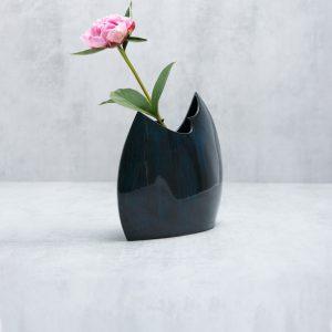 Pianca Ceramics - Cobalt Blue Ceramic vase - blue gift - blue pottery