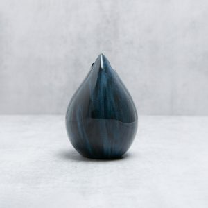 Pianca Ceramics - contemporary home decor style - blue table vase