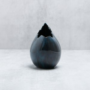 Pianca Ceramics - contemporary house interior - blue pottery vase