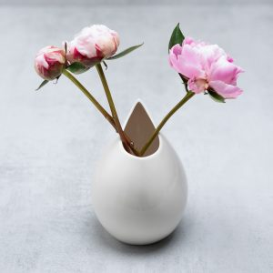 Pianca Ceramics - porcelain vase white - white vase decor