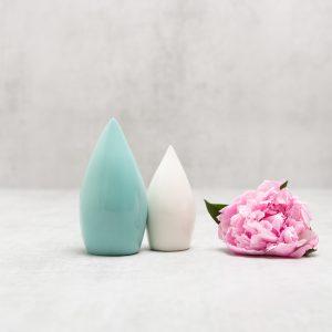 Pianca Ceramics - turquoise pottery vase - turquoise vase