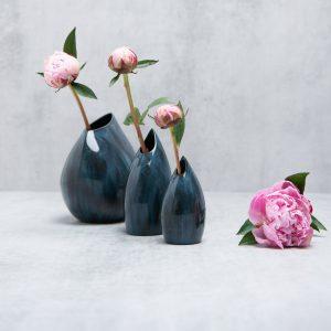 Pianca Ceramics - blue vases for sale