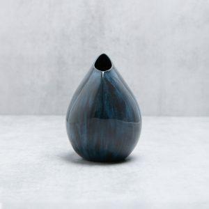 Pianca Ceramics - dark blue vase - blue pottery vases online