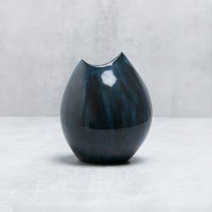 Pianca Ceramics - blue white vase - blue and white living room
