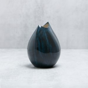 Pianca Ceramics - blue and white vase
