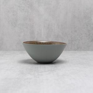 Pianca Ceramics - Grey Ceramic Bowl - grey pot - grey home accessories - grey porcelain