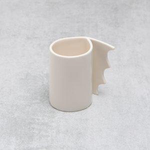 Pianca Ceramics - Ceramic Espresso Cup - coffee cup design - creative coffee cup design - porcelain espresso cup - cup coffee - ceramic cup - handmade espresso cup - handmade coffee cup - white espresso cup - handmade ceramic coffee cup -
