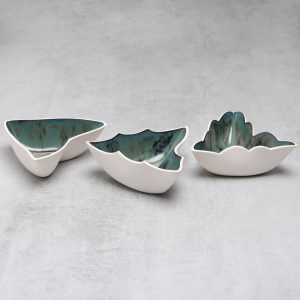 Pianca Ceramics - porcelain centerpiece - ceramic candle holder - modern centerpiece - pottery centerpieces - ceramic centerpiece - ceramic table centerpieces - Contemporary Centerpiece