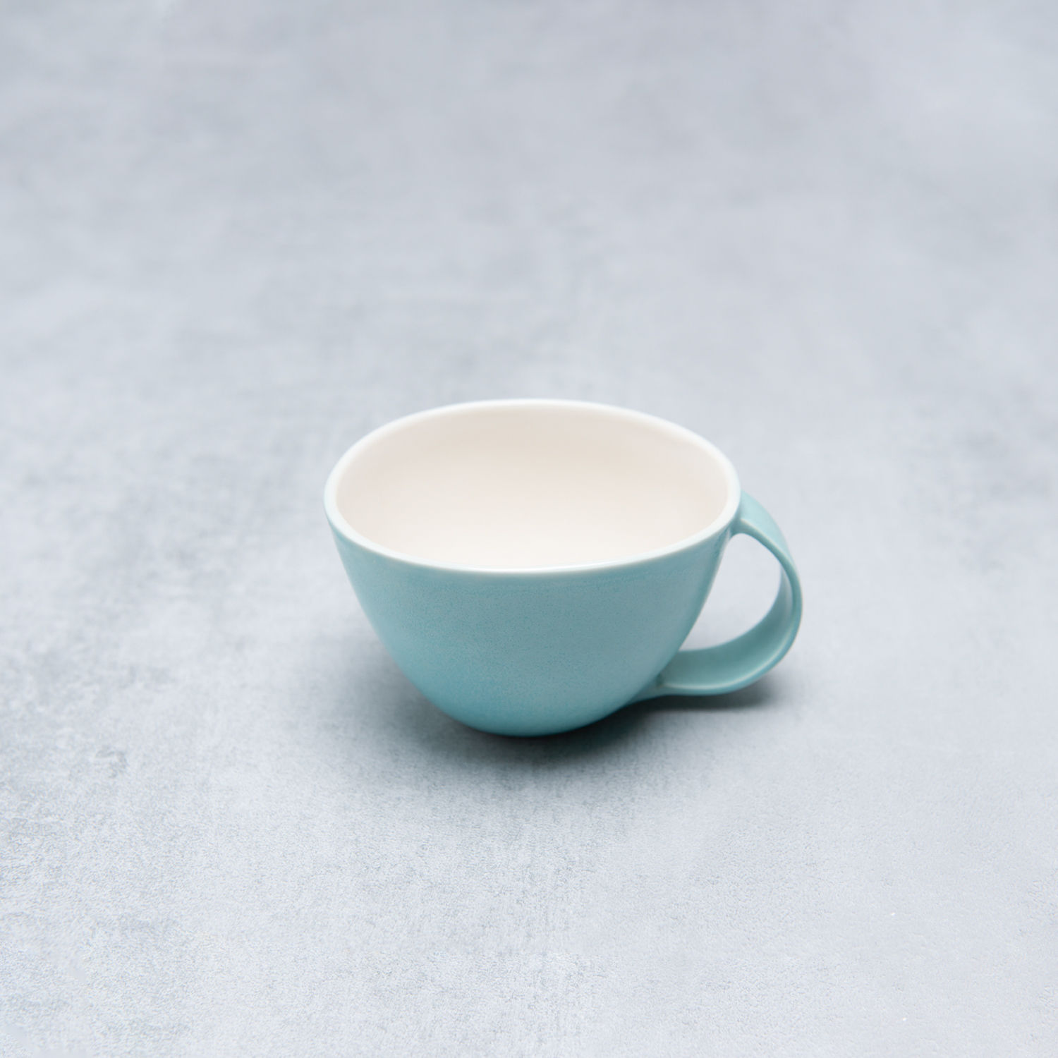 Blue Ceramic Cup Handmade By Pianca Ceramics