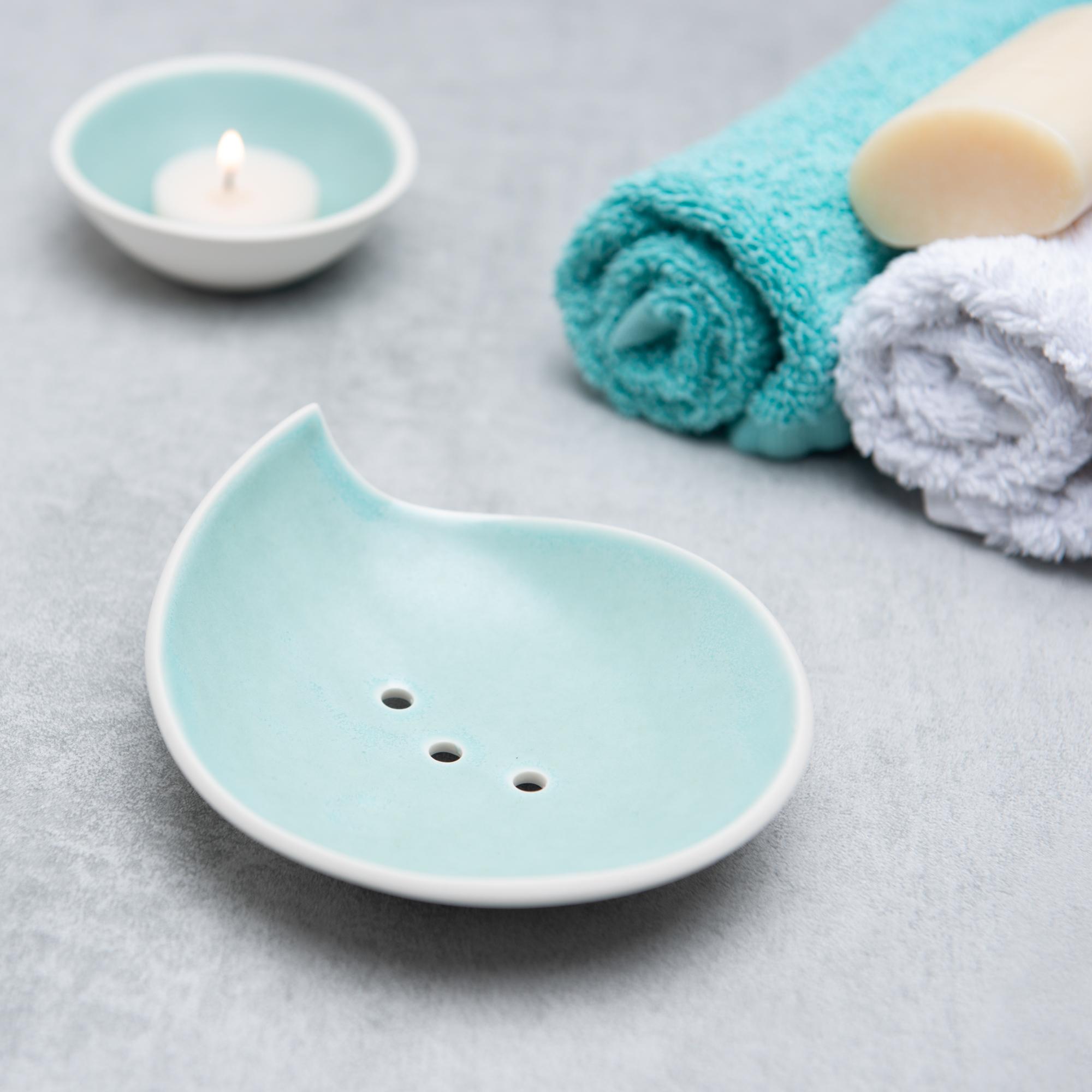 Pianca Ceramics - ceramic soap dish handmade - handmade soap holder - porcelain soap holder - best soap dish for handmade soap - ceramic soap - soap holder ceramic - handmade pottery soap dishes - soap dish handmade
