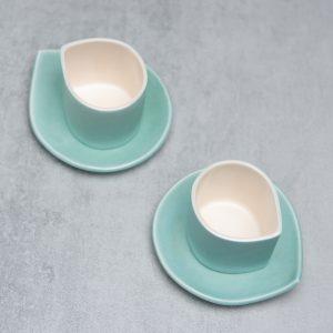 Pianca Ceramics - Ceramic Beaker - handmade pottery coffee mugs - espresso beaker - handmade espresso cups - handmade ceramic espresso cups - porcelain beaker - coffee beaker