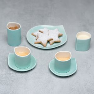 Pianca Ceramics - Ceramic Beaker - handmade pottery coffee mugs - espresso beaker - handmade espresso cups - handmade ceramic espresso cups - porcelain beaker - coffee beaker -ceramic espresso cup set