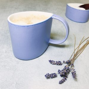 Pianca Ceramics - Purple ceramic mug - purple tea cup - violet mug - fine porcelain coffee mugs - porcelain art mug - coffee cup ceramic porcelain - cup porcelain - purple ceramic mugs - handmade pottery coffee mugs - mug violet
