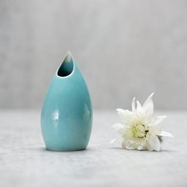 Pianca Ceramics - sky blue ceramic vase