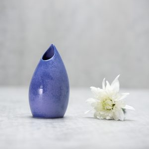 Pianca Ceramics - purple bud vase