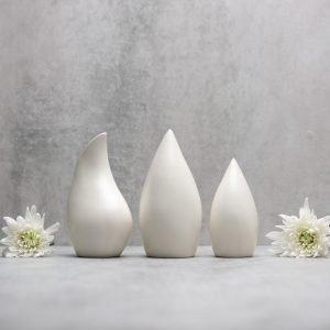 Pianca Ceramics - white vase design - pottery vases handmade - vase handmade - unique vases for centerpieces - - unique white vase- white vase design - satin vase