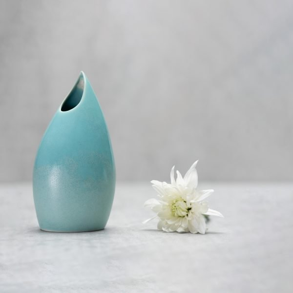 Pianca Ceramics - sky blue vase
