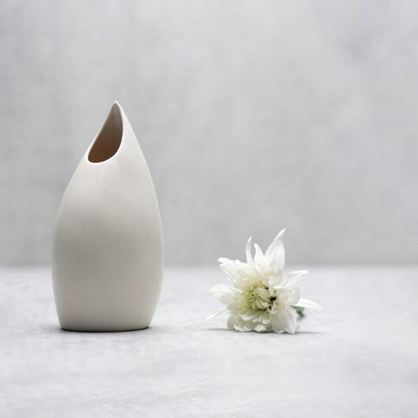 Pianca Ceramics - unique white vase