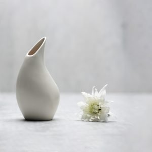 Pianca Ceramics - white vase design - pottery vases handmade - vase handmade - unique vases for centerpieces