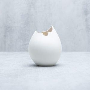 Pianca Ceramics - white vase - handmade ceramic vases
